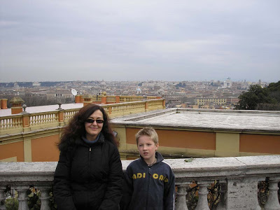 Tommie in Rome