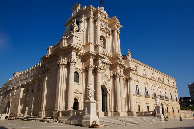 Sicilia | Il duomo di Siracusa