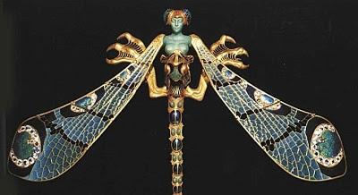 Lalique - libellula spilla 1898
