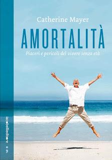 Amortalità - la copertina del libro