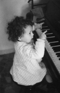 Rita Charbonnier da piccola