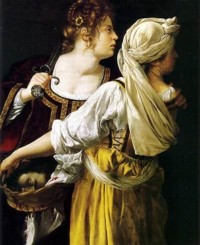 Artemisia Gentileschi, Giuditta con la sua ancella