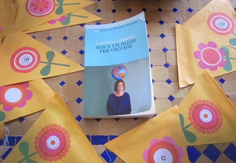 """Il libro di Loredana Lipperini """"Non è un paese per vecchie""""."""