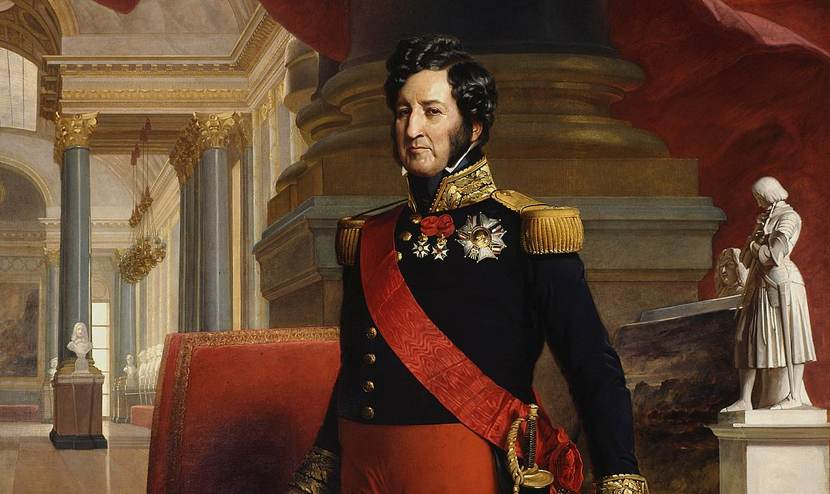Luigi Filippo di Francia, protagonista del baratto di Modigliana