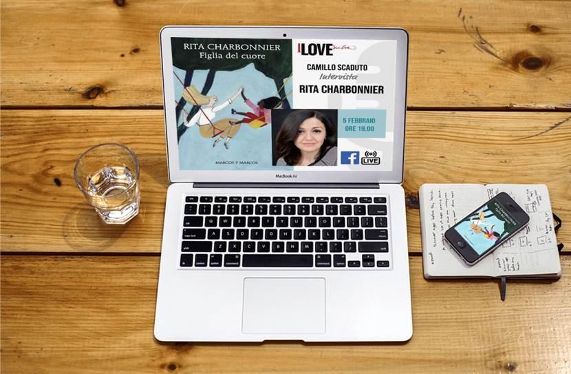 La locandina dell'incontro su I love Sicilia sullo schermo di un computer