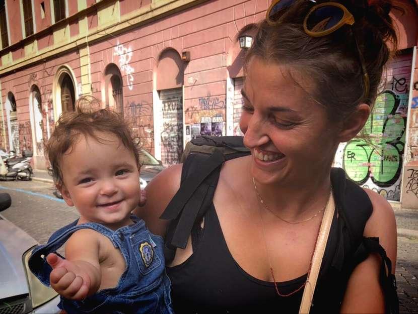 Tieta Madia con la figlia Eva