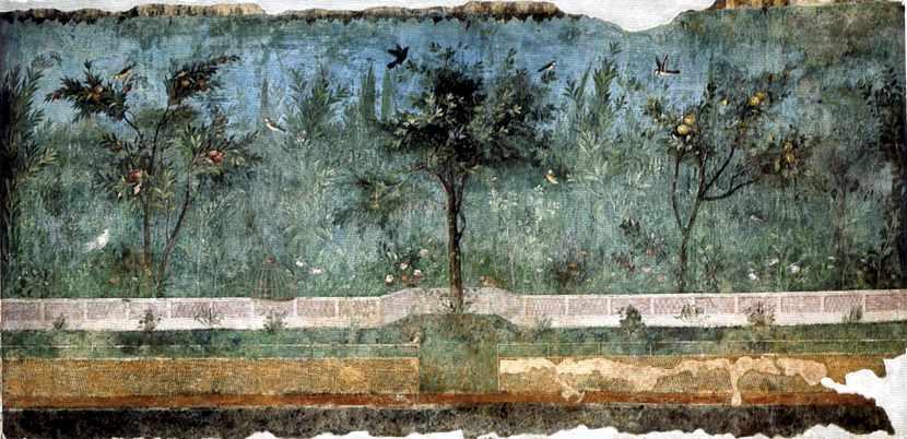 Giardino dipinto, Museo nazionale romano