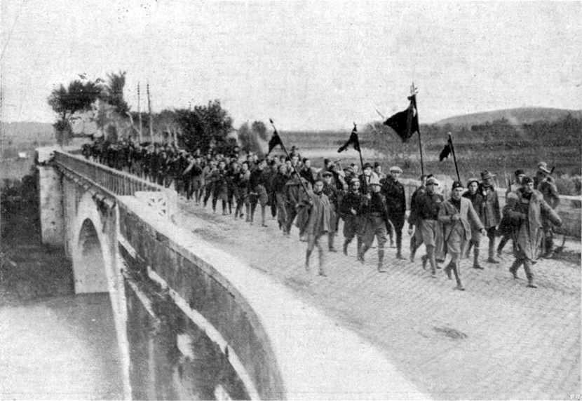 La marcia su Roma, inizio del ventennio fascista