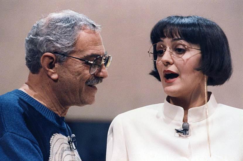 """Nino Manfredi nella commedia """"Parole d'amore... parole"""""""