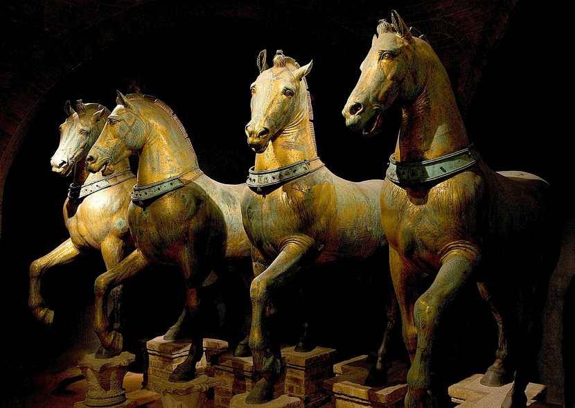 I cavalli di San Marco a Venezia