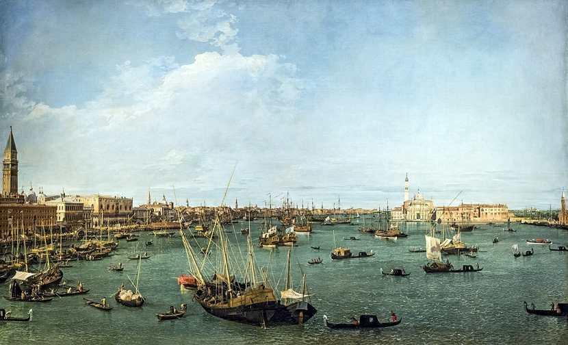 Canaletto, Bacino di San Marco a Venezia