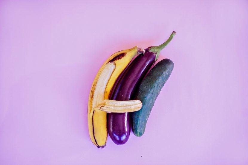 Ricatto sessuale: un'immagine metaforica. Ortaggi