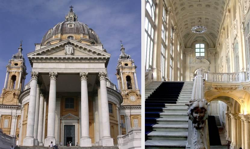 Torino, Basilica di Superga e Palazzo Madama