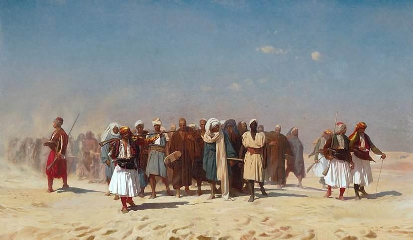 Orientalismo: un dipinto di Gérôme