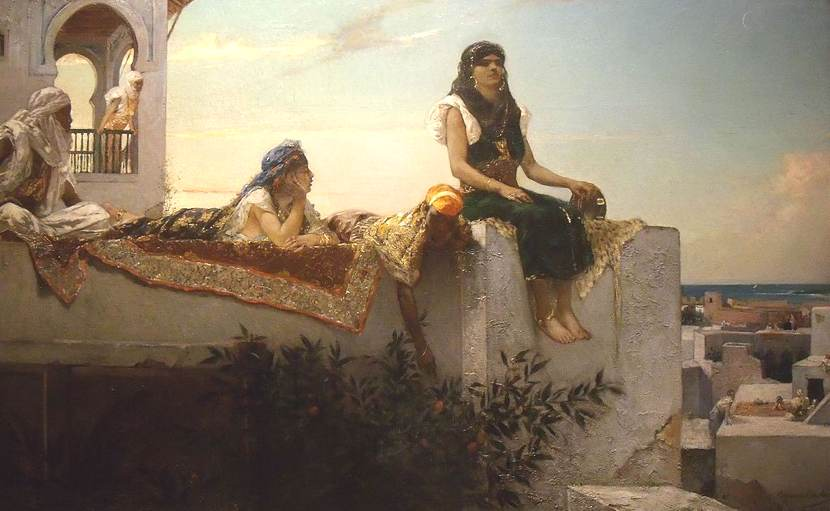 Orientalismo: un dipinto di Constant